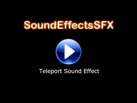 Teleport Sound Effect