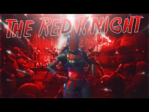 *NEW* LEGENDARY RED KNIGHT! BEST SKIN IN THE GAME (Fortnite Battle Royale)