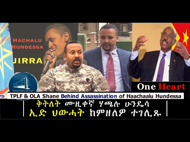 TPLF and OLA Shane Behind Assassination of Haachaalu Hundessa
