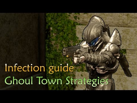 Halo 5 Infection - Ghoul Town Strategy guide