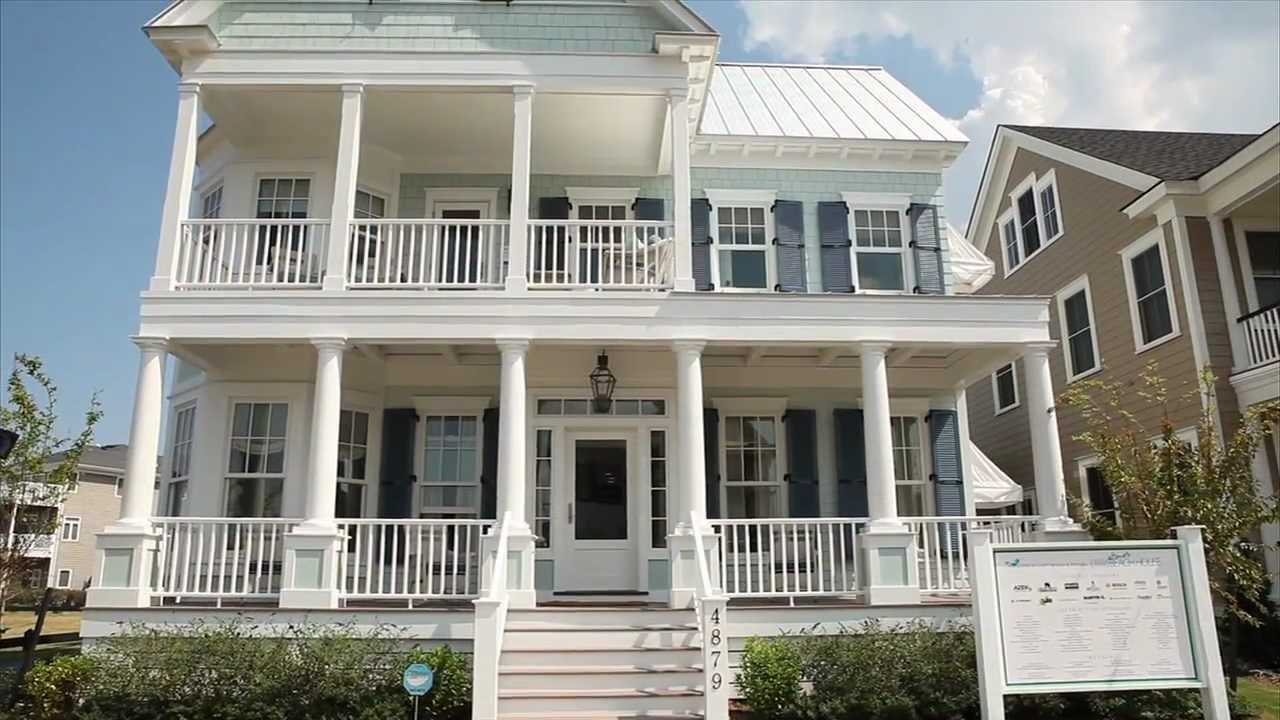 Ultimate beach house exterior youtube - Coastal home exterior color schemes ...