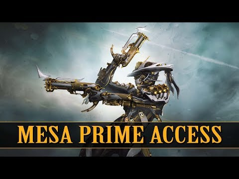 Warframe - Mesa Prime Access Is Here (Drop Locations) thumbnail