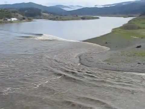 Tsunami - Rogue River Oregon 2011