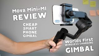 MOZA MINI-MI REVIEW - Wireless Charging SMART Phone Gimbal - WATCH BEFORE YOU BUY