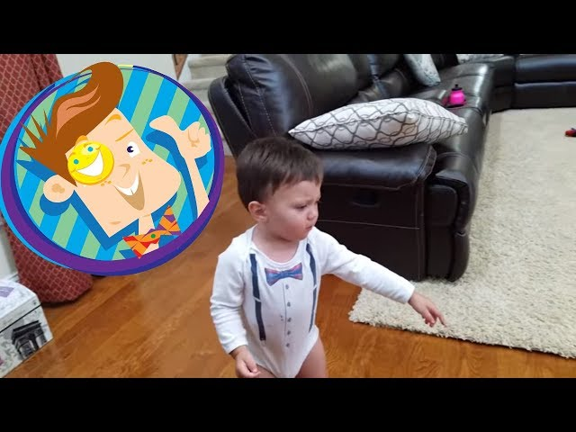 MONSTER HOME INTRUDER CHASES BABY + Fall Down, Go Boom Funny Fails 💥 (FUNnel Vision Vlog / Skit)