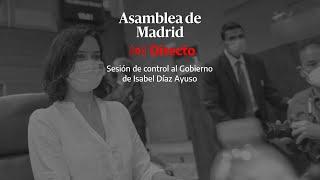 🔴 DIRECTO | Continua el pleno en la Asamblea de Madrid