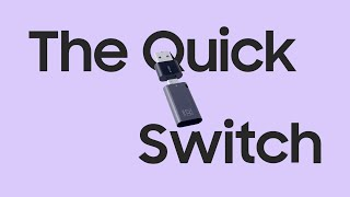 Samsung USB Flash Drive DUO Plus : The Quick Switch
