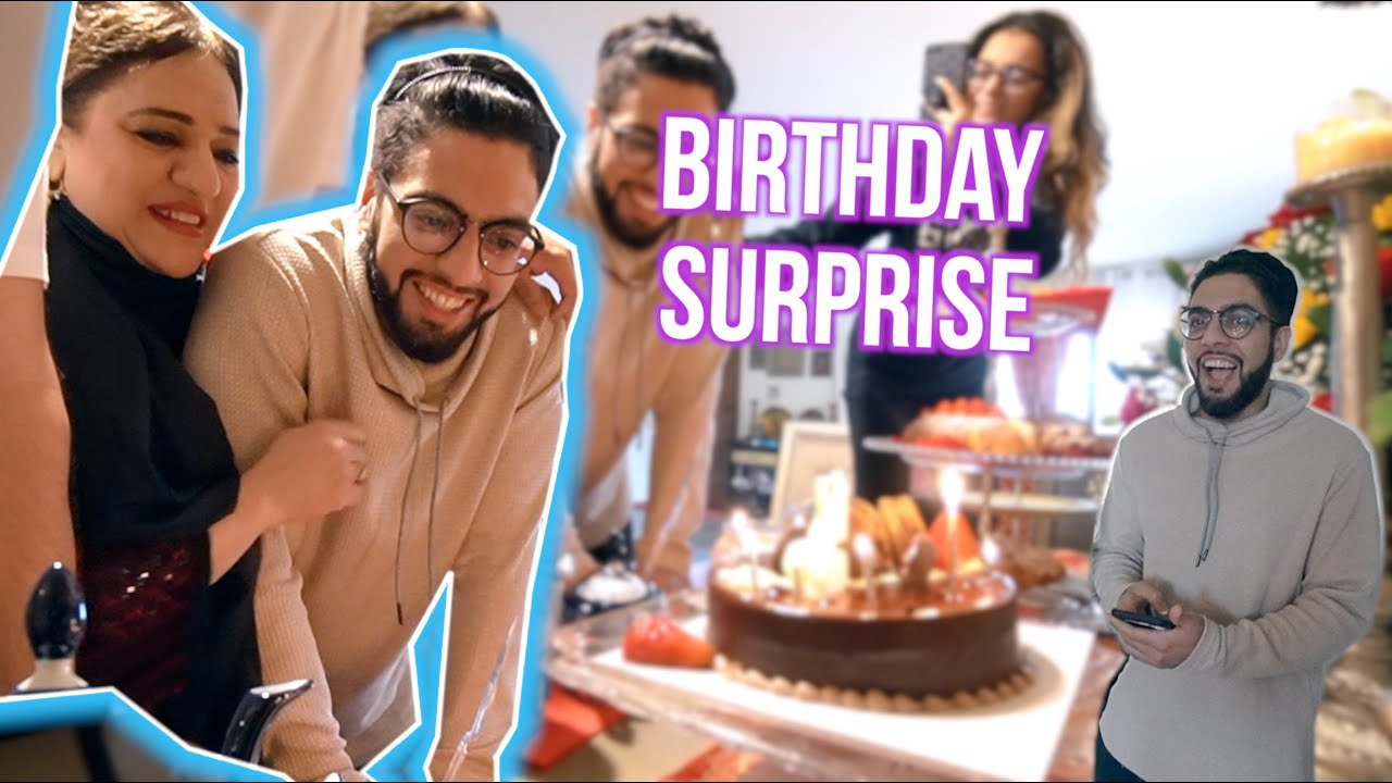 FAMILY SURPRISED ME FOR MY BIRTHDAY! *Shocked*