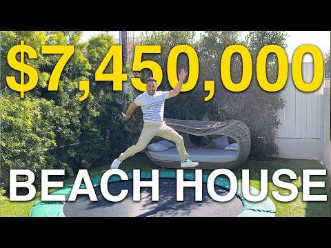 7.5 MILLION DOLLAR BEACH HOUSE | JOSH ALTMAN | REAL ESTATE | EPISODE #49