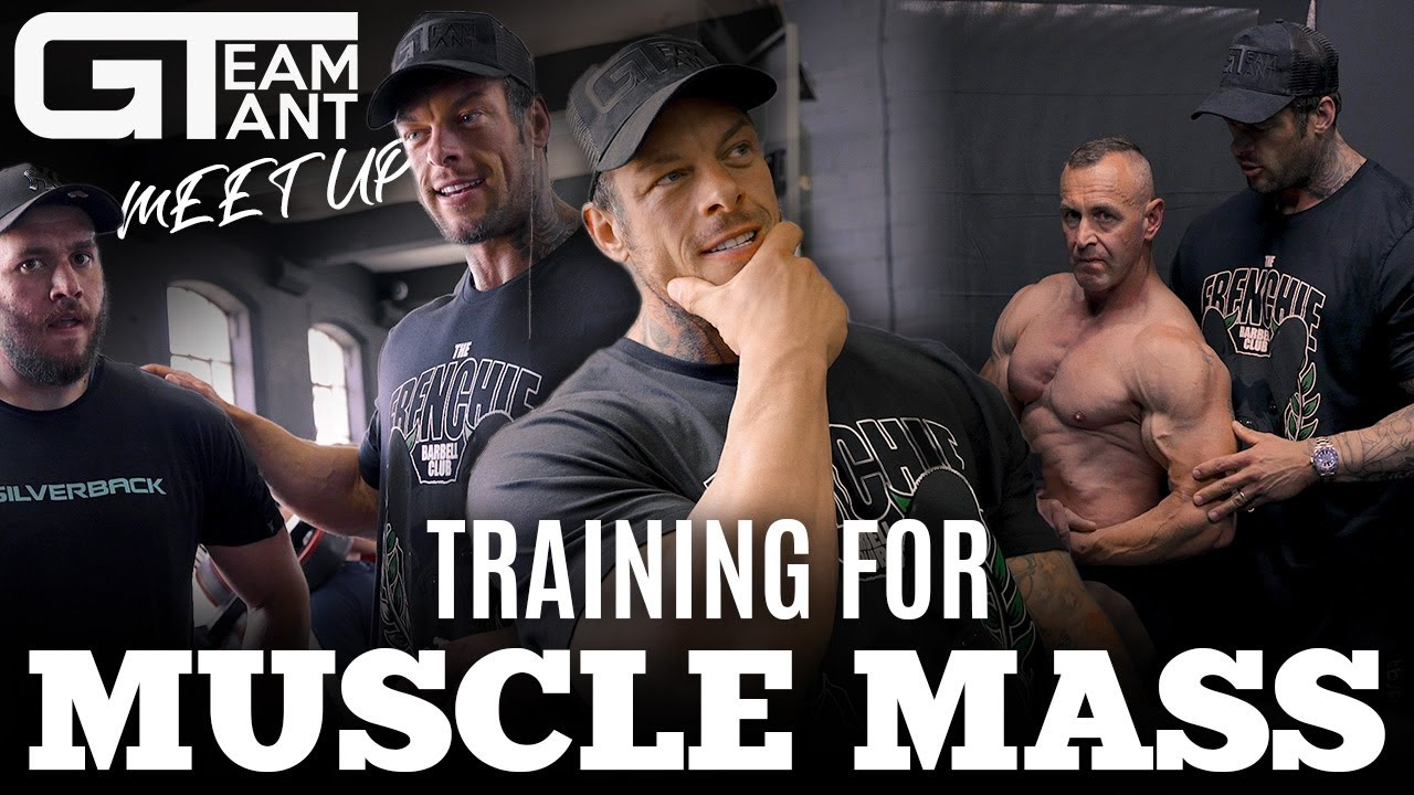 TRAINING FOR MUSCLE MASS // TEAM GIANT MEET UP // 3 WEEKS OUT