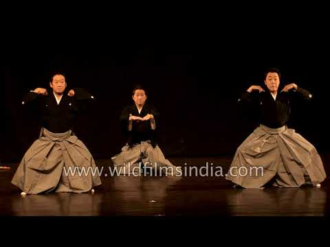 Japan's Goyokai dance group performs to Indian classical music