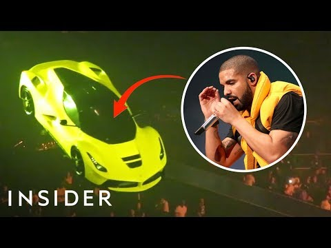 How Drakes Team Made His Ferrari Fly On Tour