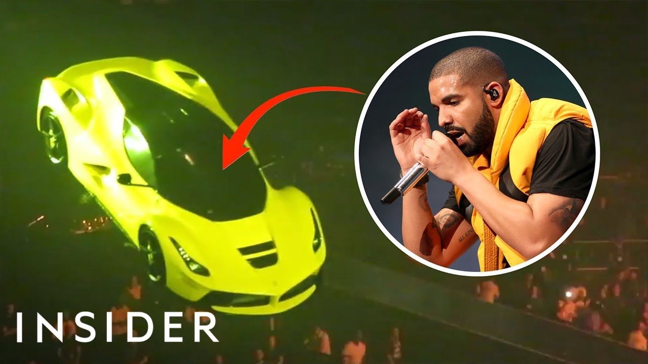 How Drake's Team Made His Ferrari Fly On Tour