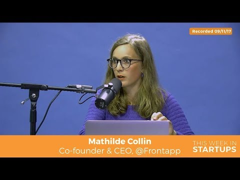 Front CEO Mathilde Collin explores AI by integrating w/bots & automating convo tagging