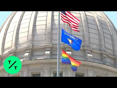 Wisconsin Governor Orders Gay Pride Flag To Fly Over Capitol For First Time Ever
