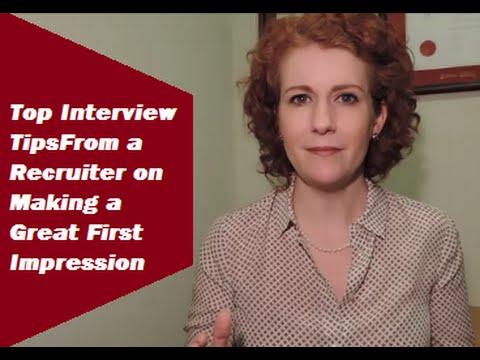recruiter interview tips