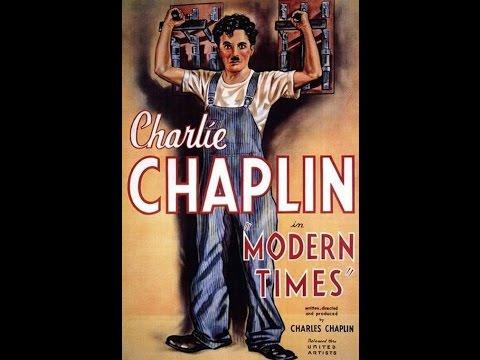 Charlie Chaplin - Tempos Modernos - Modern Times - 1936