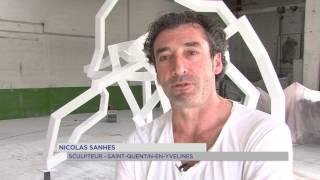 Art : une nouvelle oeuvre monumentale pour Nicolas Sanhes