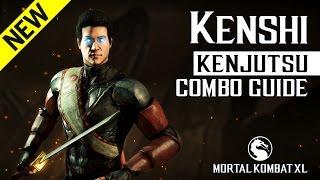 Mortal Kombat X: KENSHI (Kenjutsu) NEW Combo Guide