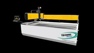Techni Waterjet THE GLASS MASTER by IGE Glass Technologies