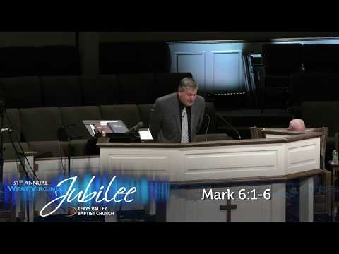 """2017 WV JUBILEE - Wednesday AM #1 - Dale Vance - """"Hard Places"""""""