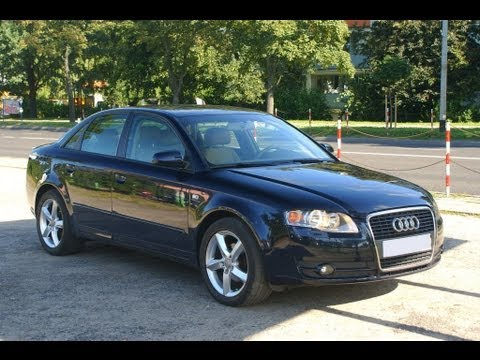 audi a4 b7 1 9 tdi 116 km 2004 2007 najlepszy diesel. Black Bedroom Furniture Sets. Home Design Ideas