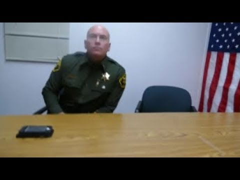 Orange County Sheriff's Deputy Acts like A Fool PART 3