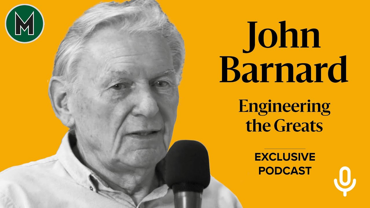 John Barnard | Engineering the Greats