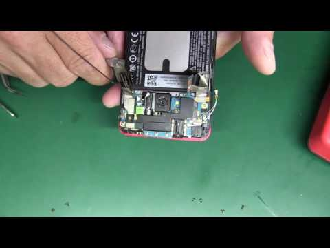 HTC one M7 не включается (утопленник)