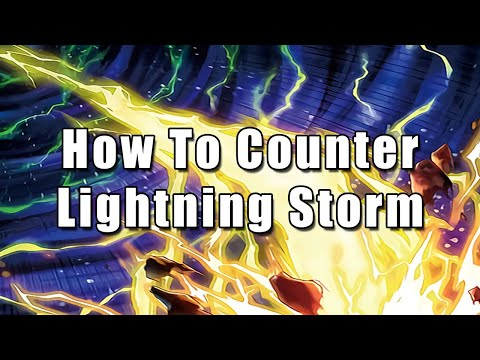 How To Counter Lightning Storm   Yu-Gi-Oh!