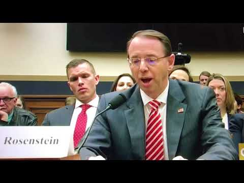 Here's the question Rosenstein wouldn't answer