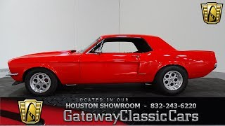 1968 Ford Mustang Gateway Classic Cars #833 Houston Showroom