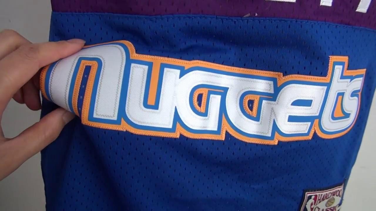 33bd9e14c8c ... good nba jerseys unboxing nba denver nuggets 3 allen iverson jersey  unboxing jerseys.ru review