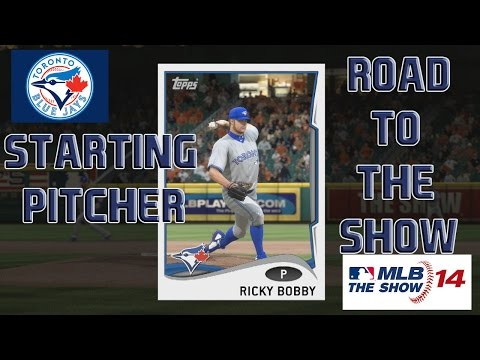 """MLB 14 The Show PS4 :: RTTS Starting Pitcher ep 73 """"The WHIPer"""""""