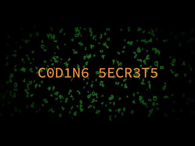 The Future of CODING SECRETS...