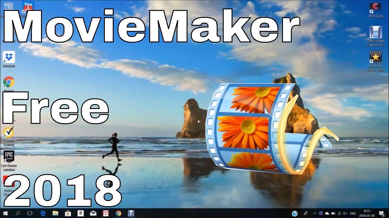 windows movie maker 2018 free download 64 bit