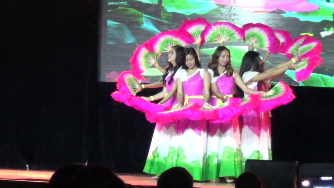 The Lotus Dance Vietnam Night Of Asia 2007 Youtube