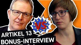Artikel 13: Interview mit Axel Voss und Julia Reda || PULS Reportage