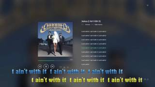 Repeat youtube video Jealous I Ain't With It - Chromeo  lyric video HD 1080p