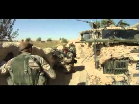 Swedish ISAF Force in combat