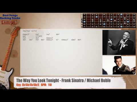 The Way You Look Tonight Frank Sinatra Michael Buble Guitar