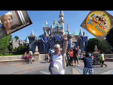Disneyland: my first trip, at nearly 68 !!