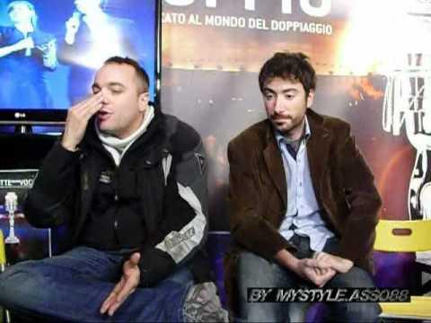 Incontro con i doppiatori Stefano Crescentini e David Chevalier P2-SpazioDoppio (BY MYSTYLE)