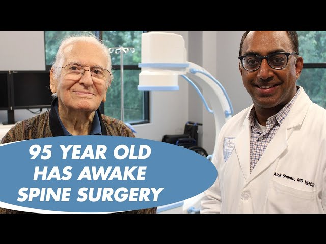 RETIRED SURGEON'S EXPERIENCE WITH AWAKE SPINE SURGERY - DR ALOK SHARAN - NJ SPINE AND WELLNESS