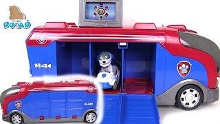 Щенячий Патруль Мультик Mission Cruiser Автобус для Выполнения Миссии  Paw Patrol Видео для Детей