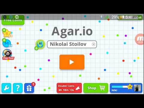 Николаи Стоилов игре agar.io
