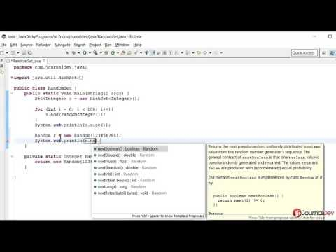 Java Tricky Program 22 - Random With Seed