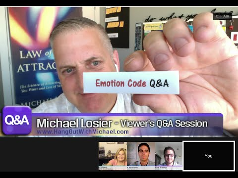 """Episode #146 Special Law of Attraction and """"Emotion Code"""" Q&A with Michael Losier and John Invera..."""