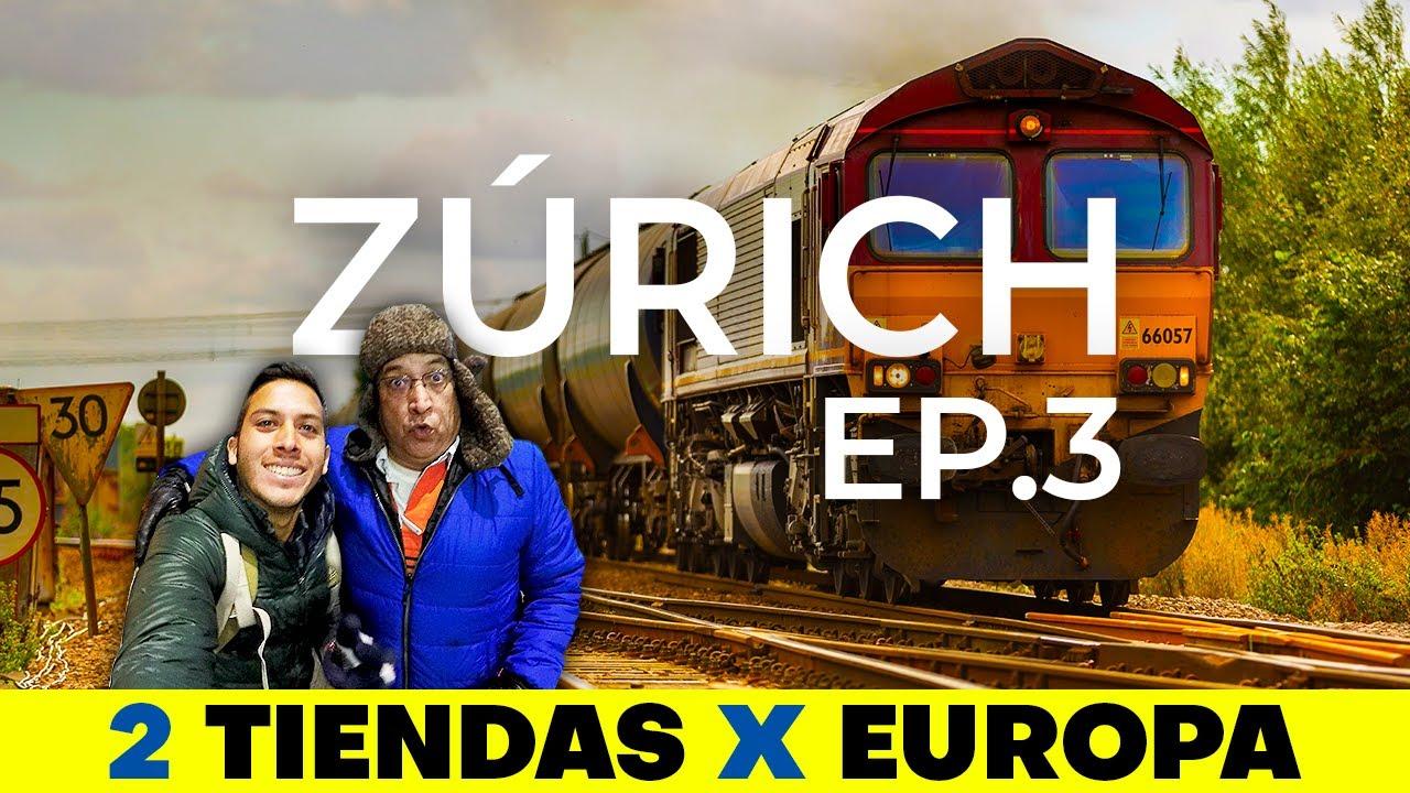 Casi PERDIMOS el TREN | 2 Tiendas X Europa Ep.3 Alex Tienda ✈️