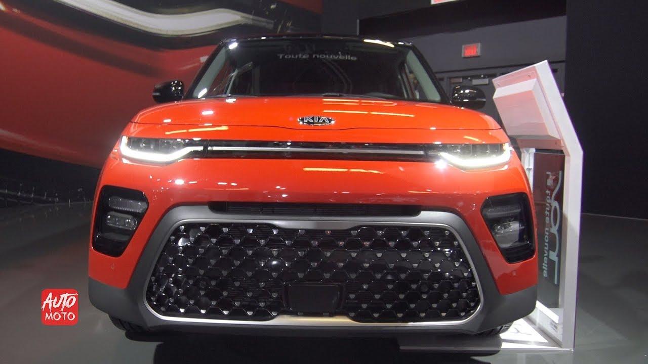 2020 Kia Soul Ex Exterior And Interior 2019 Montreal Auto Show Youtube